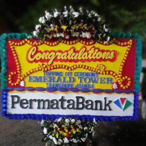 Bunga Ucapan Selamat Bank Permata